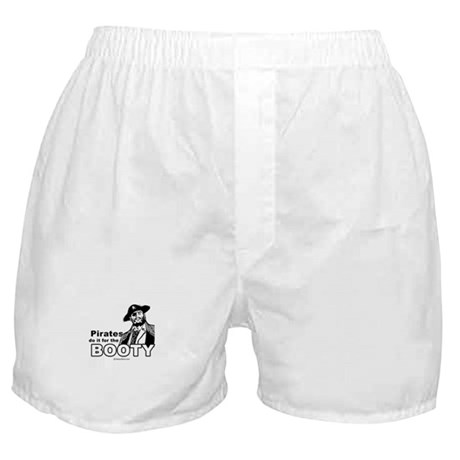 Pirates do it for the booty - Boxer Shorts