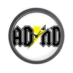 AD HD Wall Clock