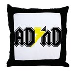 AD HD Throw Pillow