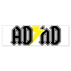 AD HD Bumper Sticker