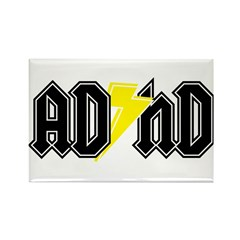 AD HD Rectangle Magnet
