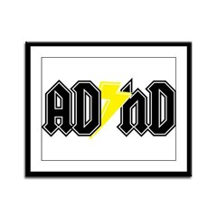 AD HD Framed Panel Print