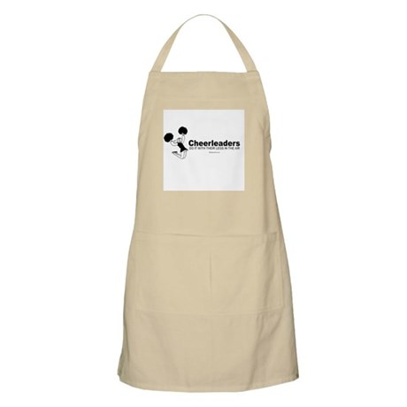 Cheerleaders do it with their legs - BBQ Apron