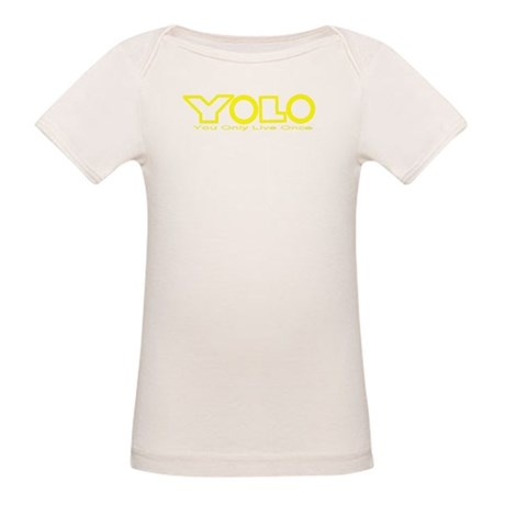 Y.O.L.O. You Only Live Once Organic Baby T-Shirt