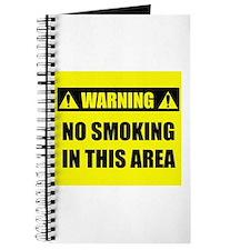 WARNING: No Smoking Journal