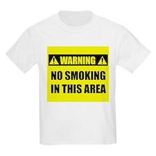 WARNING: No Smoking T-Shirt