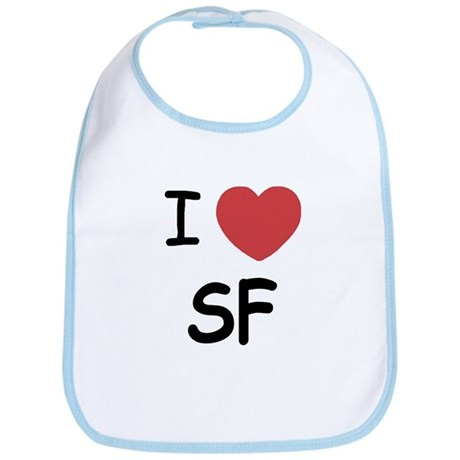 I heart SF Bib