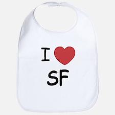 I heart SF Bib