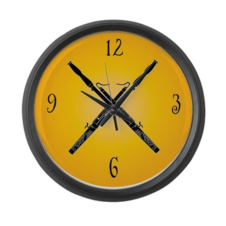 Fun Bassoon Wall Clock Music Gift