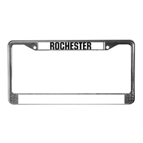 Rochester, Minnesota License Plate Frame