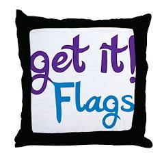 Get it! Color Guard Throw Pillow