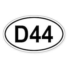 Dana 44 Decal