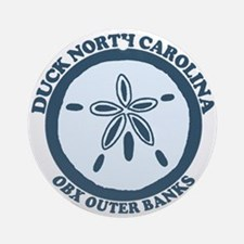 Duck NC - Sand Dollar Design Ornament (Round)