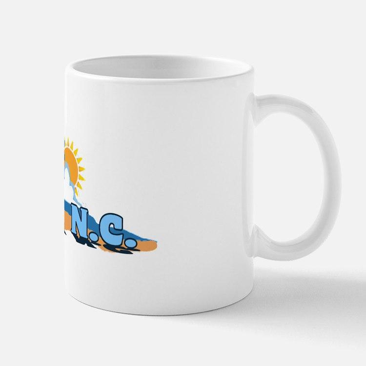 Duck NC - Waves Design Mug