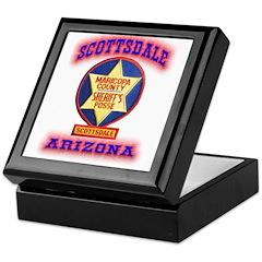 Scottsdale Sheriff's Posse Keepsake Box