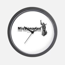 Missionaries have their own position -  Wall Clock