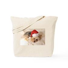 Santa Yorkie - Tote Bag