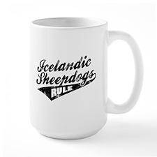 Icelandic Sheepdogs Rule Mug
