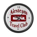 Travel Club Large Wall Clock
