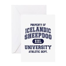 Icelandic Sheepdog U Greeting Card