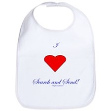 Love Search Send Bib