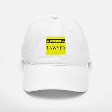 WARNING: Lawyer Baseball Baseball Cap