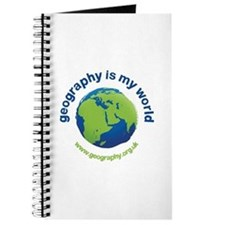 'Geography is my World' Journal