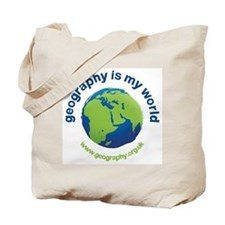 'Geography is My World' Tote Bag