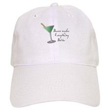 Funny Bacon Martini Baseball Cap