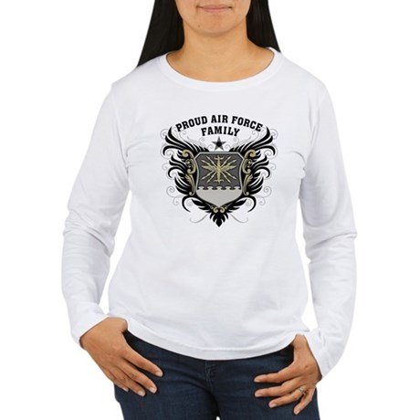 Proud Air Force Family Women's Long Sleeve T-Shirt