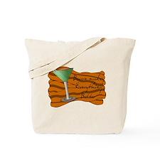 Funny Bacon Martini Tote Bag