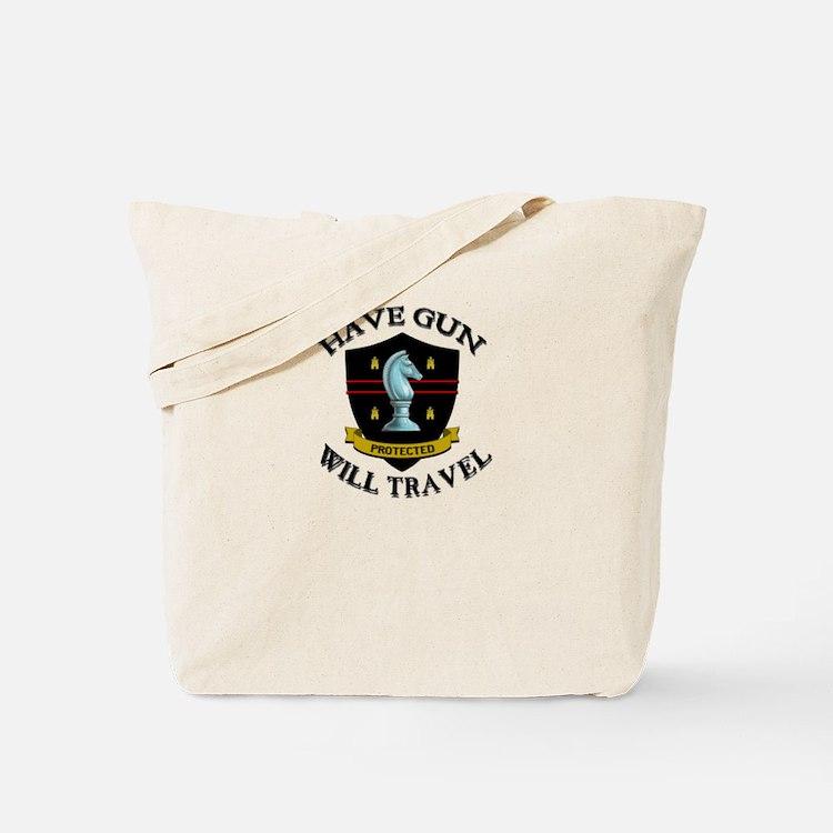 Have Gun Tote Bag