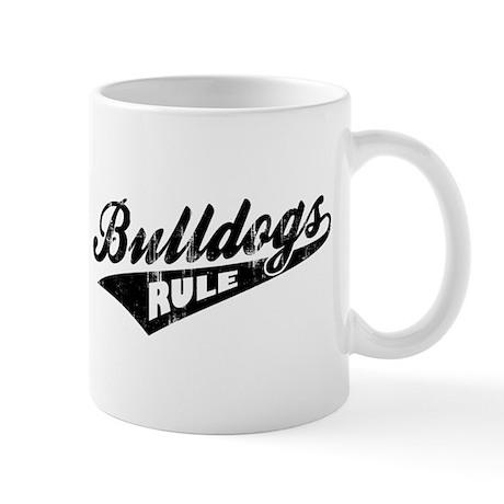 Bulldogs Rule Mug