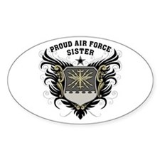 Proud Air Force Sister Decal