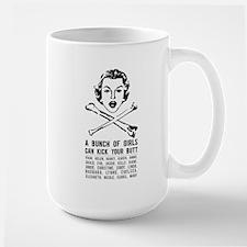 A Bunch of Girls Large Mug