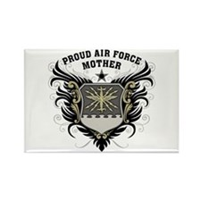 Proud Air Force Mother Rectangle Magnet