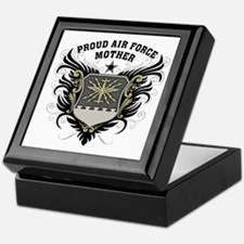 Proud Air Force Mother Keepsake Box