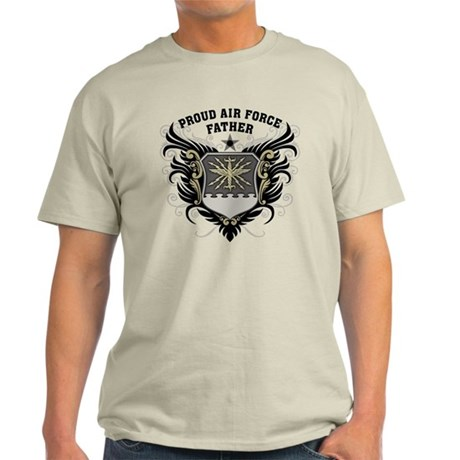 Proud Air Force Father Light T-Shirt