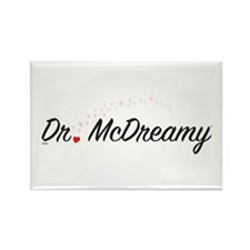 Dr. McDreamy Rectangle Magnet