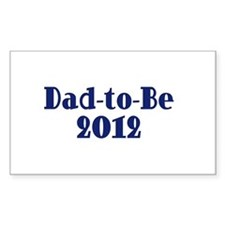 Dad-to-Be 2012 Decal