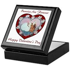 Valentine Rabbits Keepsake Box
