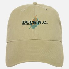 Duck NC - Seashells Design Baseball Baseball Cap