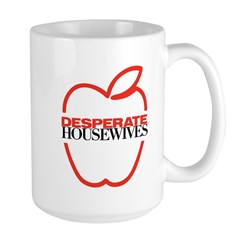 Red Apple Outline Mug