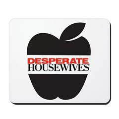 Black Apple Mousepad