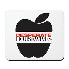 Black Apple Mousepad