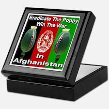 Eradicate The Poppy Keepsake Box