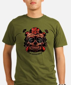The Expendables Skull TNT T-Shirt