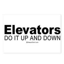 Elevators do it up and down -  Postcards (Package
