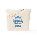 1st Birthday Prince LUKE! Tote Bag