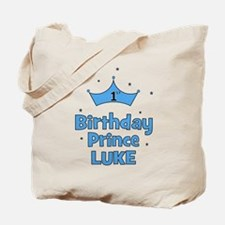 1st Birthday Prince LUKE! Tote Bag